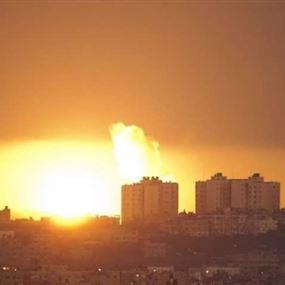 غارات على غزة بعد إصابة 4 عسكريين إسرائيليين