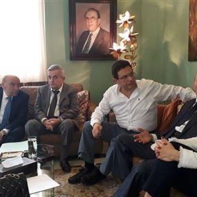إعلان لائحة عنا القرار برئاسة فريد هيكل الخازن
