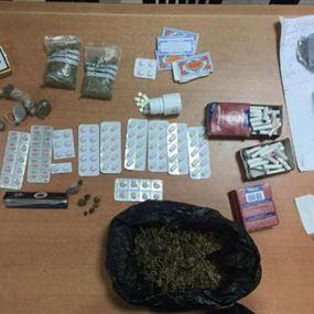 توقيف مروّج مخدرات في بعبدا