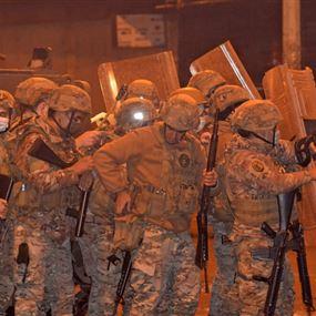 الجيش: إصابة 31 عسكرياً وتوقيف 5 أشخاص في مدينة طرابلس