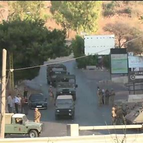 بيان للجيش اللبناني حول الاشتباكات في خلدة