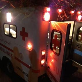 نقل جثتين من منزل في عمشيت إلى المستشفى
