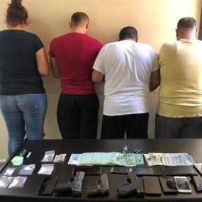 يجنّد أشخاصاً لتشكيل شبكات تروّج المخدرات بين كسروان والمتن