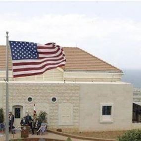 رسالة من السفارة الاميركية إلى رعاياها في لبنان
