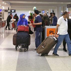 بالصور: ضبط مخدرات مع راكب هولندي في مطار بيروت