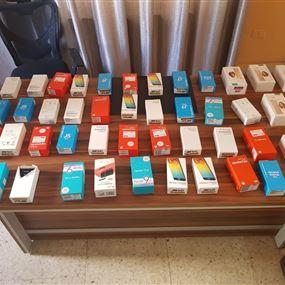 دهم محلات تبيع أجهزة خلوية مسروقة في بيروت!