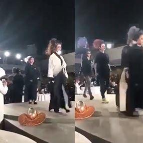 بالفيديو: عرض أزياء في السعودية.. يثير جدلاً واسعاً