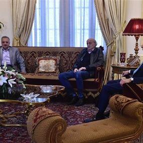 لقاء جنبلاط إرسلان: اتفاق على تشكيل لجنة لمناقشة كل القضايا الخلافية
