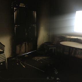 أحرقوا منزله بعد مقابلته على قناة الجديد!