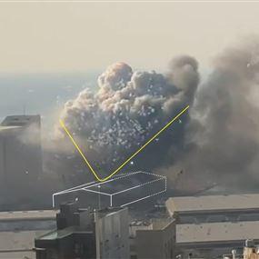 فيديو ثلاثي الأبعاد.. كيف انفجر مرفأ بيروت؟