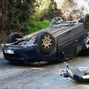 تعرض مذيعة الـ OTV لحادث سير مروع في أنطلياس