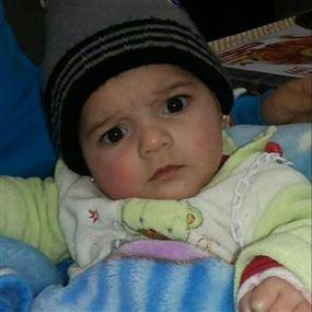 اختناق مفاجئ يسرق الطفلة سارة من حضن أبويها