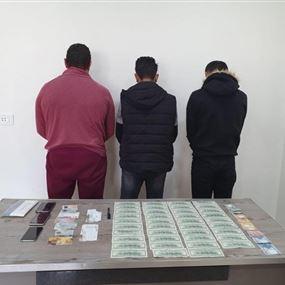 شعبة المعلومات تلقي القبض على عصابة بالجرم المشهود
