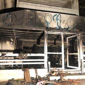 شعبة المعلومات تفجّر مفاجأة وتكشف حقيقة حريق مقهى الربوة