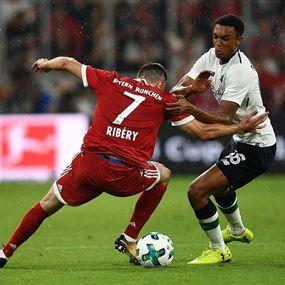 ليفربول يتلاعب ببايرن ميونيخ ويثير غضب جمهوره