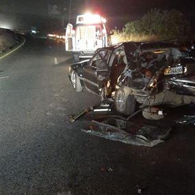 ثلاثة جرحى اثر حادث سير في المنصف
