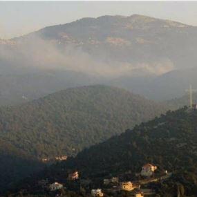حريق كبير في عكار وقرع أجراس الكنائس للمساعدة