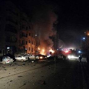 بالفيديو: انفجار عنيف يهزّ شارع الثلاثين في إدلب