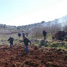 توتر في بليدا.. اسرائيل تلقي قنابل على دورية للجيش!