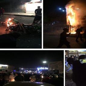 12 قتيلًا منذ بدء الاحتجاجات.. أبرز صور في مظاهرات إيران