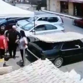 بالفيديو: لقطات مرعبة لحادث في المتن