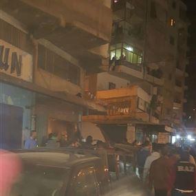 بالصور: انفجار خزان كربير في طرابلس