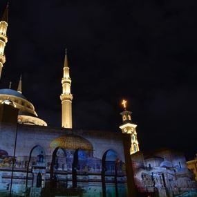 بالصور: من المسجد والكاتدرائية في بيروت.. هنا القدس