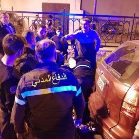 جريح جراء حادث سير في بربور