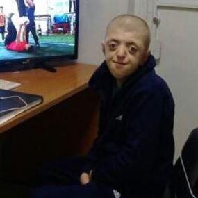 تعميم صورة فتى قاصر من ذوي الاحتياجات الخاصة