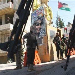 قتيل من عناصر الامن الوطني الفلسطيني في اشتباكات المية ومية
