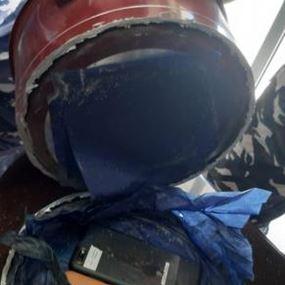 بالصور: في سجن زحلة.. أخفى جهازين خلويين داخل طنجرة!