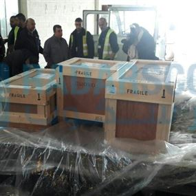 بالصور: مسروقات متحف جبيل تعود عبر المطار بغياب الوزير