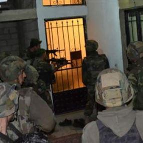 استشهاد عسكري وجرح آخرين خلال مداهمة للجيش اللبناني