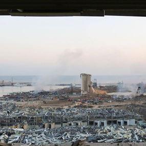 هذه معطيات التحقيق الأولية لإنفجار مرفأ بيروت...