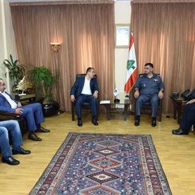 اللواء عثمان استقبل رئيس بلدية صيدا ومجدل عنجر