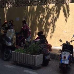 استغل أمهات وأطفال للتسوّل على عدد من تقاطعات بيروت