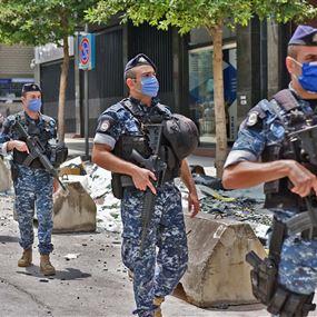 في بيروت.. توقيف نحو 15 شخصا يوميا يقومون بالسرقة ليلاً