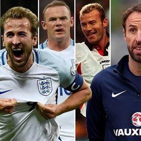 مدرب المنتخب الإنكليزي يعتبر كين أفضل من شيرر وروني وأوين