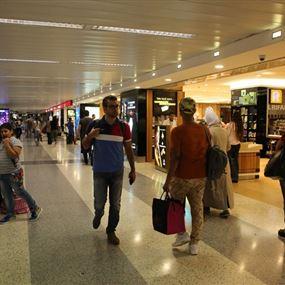 تنظيم الدخول الى قاعات الشرف في مطار رفيق الحريري الدولي