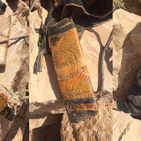 العثور على 5 أحزمة ناسفة في وادي حميد