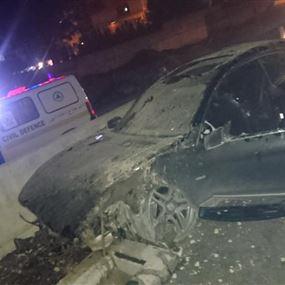 ثلاثة جرحى اثر حادث سير على الأوتوستراد العربي