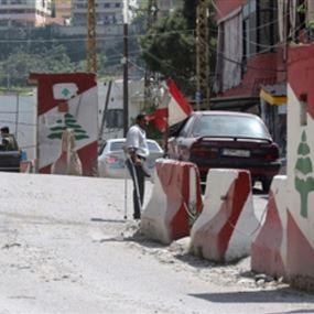 إطلاق نار على حاجز للجيش اللبناني
