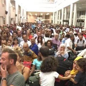 ما صحة الازدحام في مطار بيروت؟