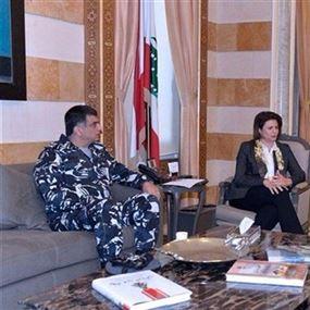 اجتماع أمني في وزارة الداخلية