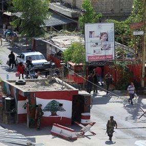 القوة الفلسطينية في عين الحلوة تسلم مطلوبا لمخابرات الجيش