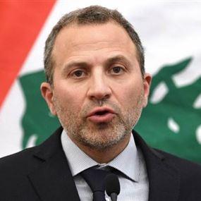 باسيل من دافوس: انقذوا لبنان قبل أن يصبح دولة فاشلة...