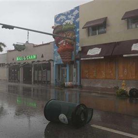 إعصار إرما يحوّل ميامي إلى مدينة أشباح