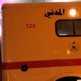 قتيل و6 جرحى في حادثَي سير