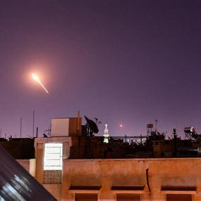 سوريا تعترض صواريخ اسرائيلية استهدفت منطقة مصياف