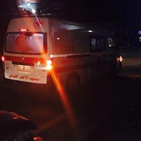 جرح مواطنة بحادث صدم في مستيتا جبيل